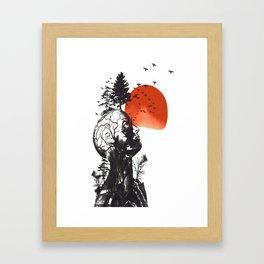 Alan's Hangover Framed Art Print