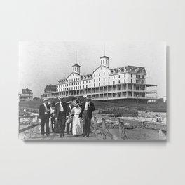 1886 Watch Hill - Larkin Hotel, Westerly, Rhode Island Metal Print