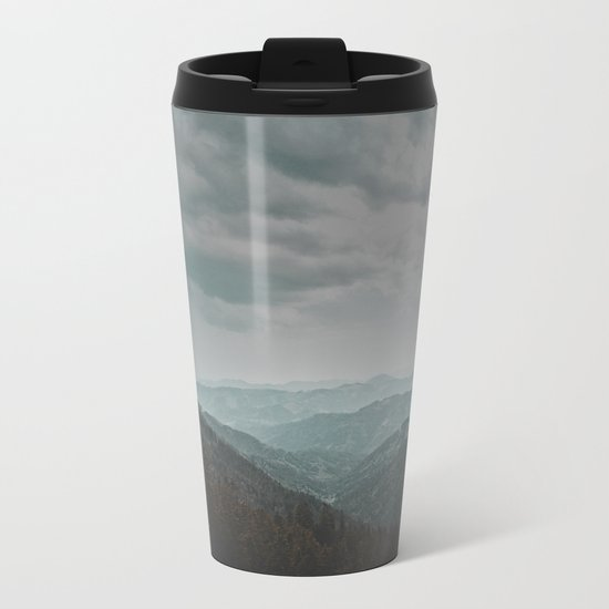 Wander forever my love (nature) Metal Travel Mug