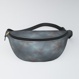 Clouds Triangle Pattern Fanny Pack