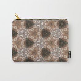 Flowers around Carry-All Pouch