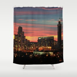 Sunset, Yekaterinburg Shower Curtain