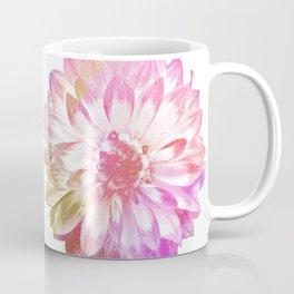 Etching Style Series Modern Vintage Dahlia vol.2 Coffee Mug