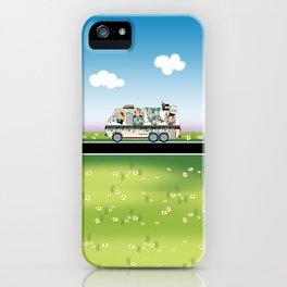 Quiltmobile iPhone Case