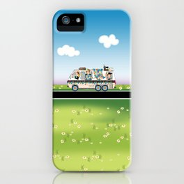 Quiltmobile iPhone Case