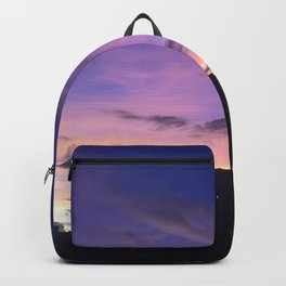 Colorful Sunset View Backpack