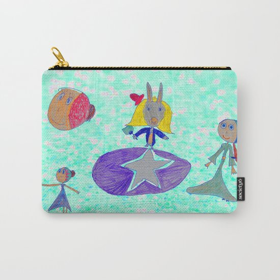 Alice | Up to the light sky Carry-All Pouch