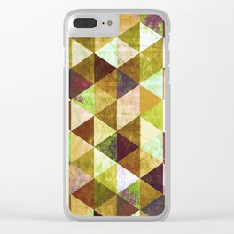 Abstract #825 Clear iPhone Case