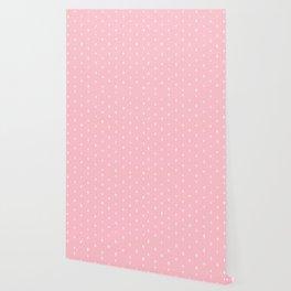 Pink Crosses Pattern Wallpaper