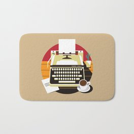 Writer Bath Mat