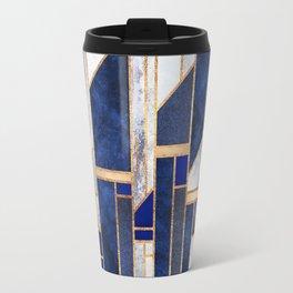 Blue Winter Sky Travel Mug