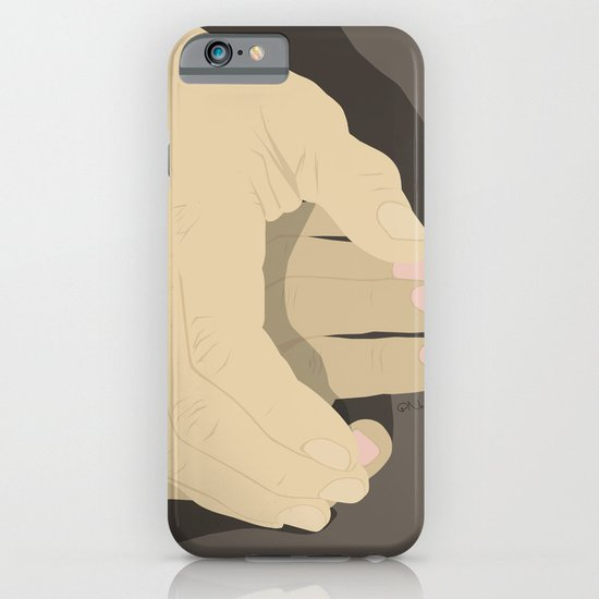 That moment when he tentatively reaches to hold her hand for the first time... iPhone & iPod Case