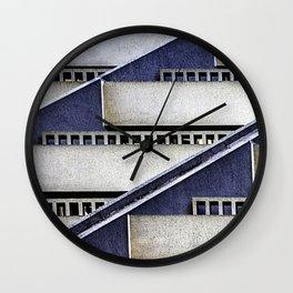 High Rise Abstract Wall Clock