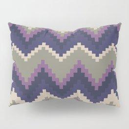 Jagged Violet Pillow Sham