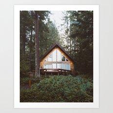 Cushman Cabin | Pt. 1 Art Print