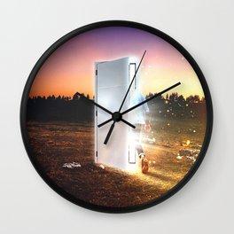 A New Door Wall Clock