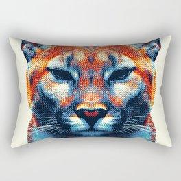 Puma -  Colorful Animals Rectangular Pillow