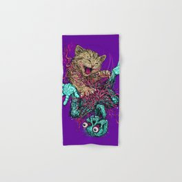 Zombie Nomz Hand & Bath Towel