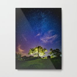 Galaxy Dreams of an Earthling Metal Print