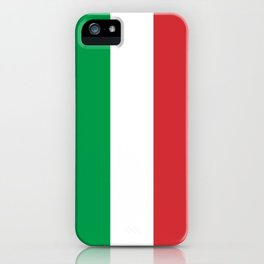 National Flag of Italy, High Quality Image iPhone Case
