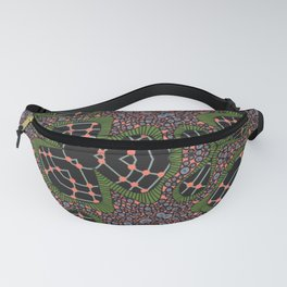 Spinning Flowers Fanny Pack