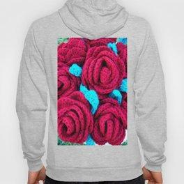 Crocheted Roses Hoody