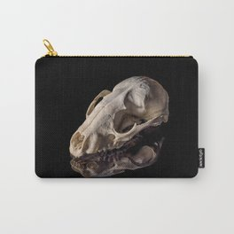 Raccoon Skull Reflection Carry-All Pouch