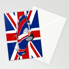 Shaguar (on Union Jack) Stationery Cards