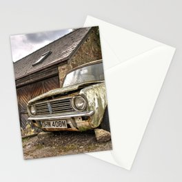 Distressed Classic Stationery Cards
