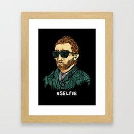 Van Gogh: Master of the #Selfie Framed Art Print