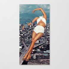 Urban D3 Canvas Print