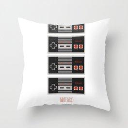 I Heart Nintendo Throw Pillow