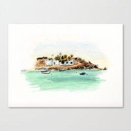 Naxos Canvas Print