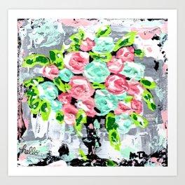 Fourishing Florals Art Print