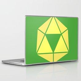 Zelda - Triforce D20 Laptop & iPad Skin