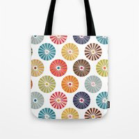 carousel Tote Bags featuring carousel by Sharon Turner
