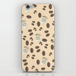 Coffee break Pattern iPhone Skin