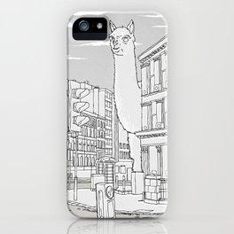 Llamondon iPhone Case