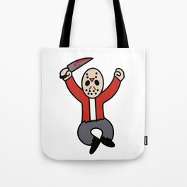 Excited Jason Tote Bag