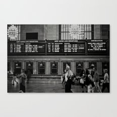 Grand Central Saturday Canvas Print
