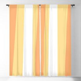 70s Retro Hippie Stripes Palette Blackout Curtain