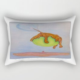 Don't Get Caught Up in That Funky Sh#t Going Down in the City Rectangular Pillow