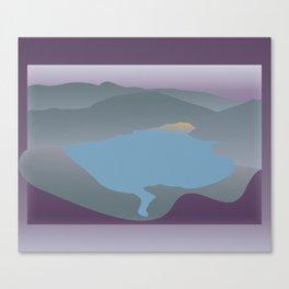 Liberty Lake 1 Canvas Print