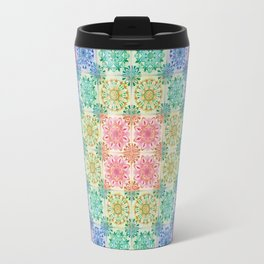 Mandala Patchwork Travel Mug