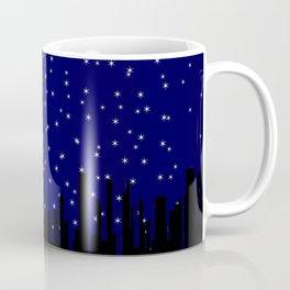 Stary Night Cityscape Coffee Mug