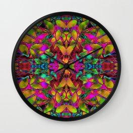 Fractal Floral Abstract G285 Wall Clock