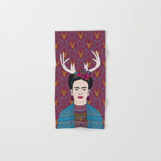 DEER FRIDA Hand & Bath Towel