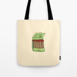 Matchbook Love Tote Bag