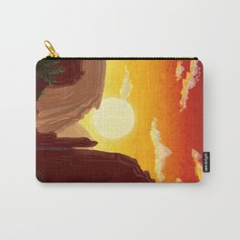 Sixty-Four: Delphi Travel Poster Carry-All Pouch