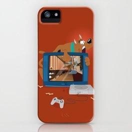 Horror Game iPhone Case